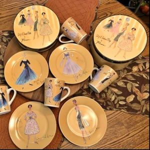 Rosanna Fashion Ooh La La Desert China & Mug Set